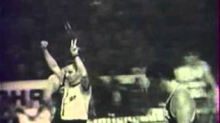 1/2 finale de la Coupe des Champions, AS Berck 95-81 Real de Madrid, 1973-1974 extrait 3