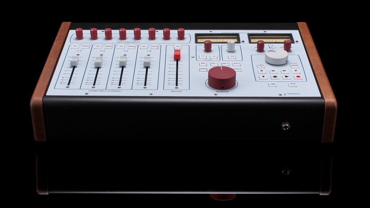 5060 Centerpiece: Rupert Neve Designed Desktop Mixer