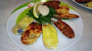 Топ3 способа приготовления запечёных мидий | Top 3 way to prepare baked mussels