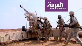 العربية ترصد قصف القوات السعودية للانقلابيين في مثلث عاهم بحجة