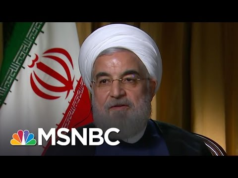 Hassan Rouhani: 'Syria Doesn't Have A Military Solution' | MTP Daily | MSNBC