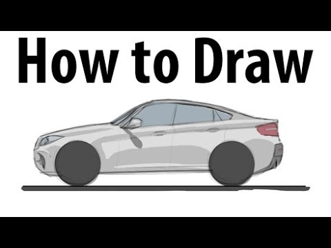 How To Draw A Bmw X6 M Sketch It Quick Youtube