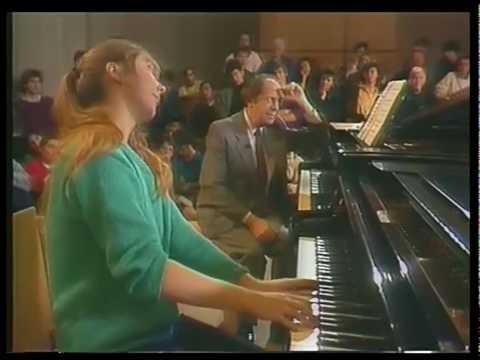 Piano Masterclass Gyorgy Sebok 1987 part 1 of 6