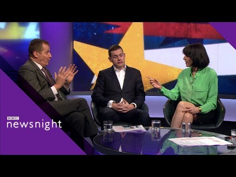Brexit bust-up, things get heated in the studio - BBC Newsnight