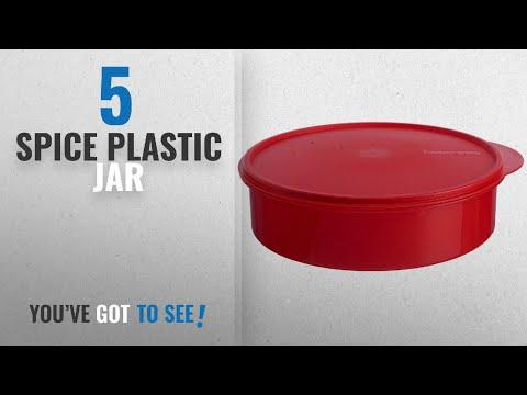 Top 10 Spice Plastic Jar [2018]: Tupperware Plastic Spice It Container, Assorted