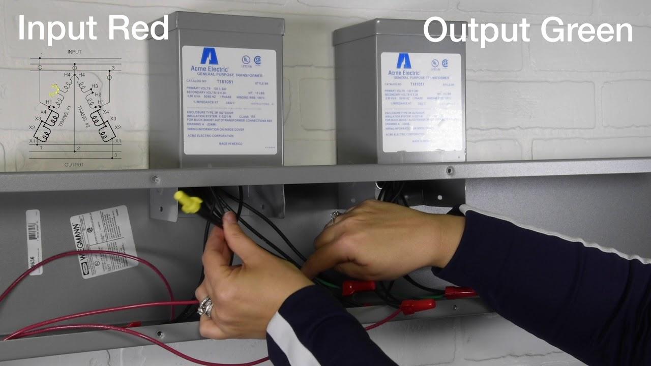 medium resolution of acme electric buck boost transformers figure gg wiring demo youtube acme single phase transformer wiring diagram acme transformer wiring