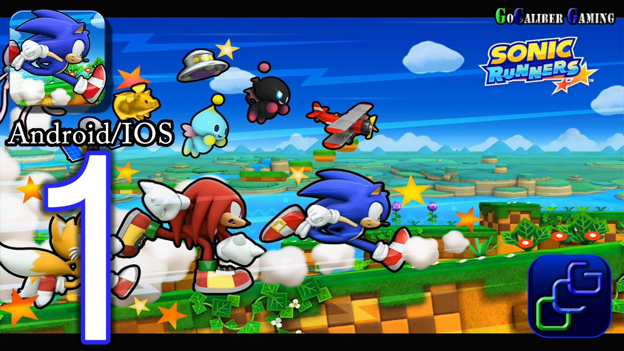 Sonic Runners Android Ios Walkthrough ソニックランナー Gameplay