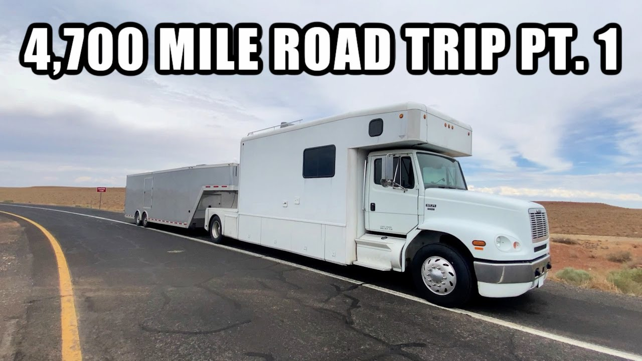 Cross-Country Road Trip In My Big Rig!