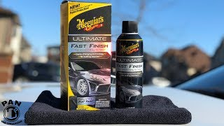 MEGUIARS ULTIMATE FAST FINISH  A Great Paint Sealant Thats Easy to Apply