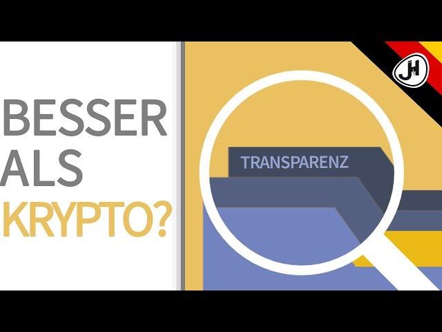 Besser als Krypto? Blockchain Anwendung TRANSPARENZ: Logistik, Lebensläufe, Diamanten,...