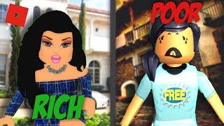 Rich To Poor | Short Film | Roblox Bloxburg | Sunset Safari
