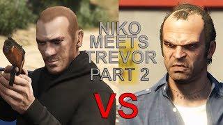 Video GTA V - Niko Meets Trevor Part 2 download MP3, 3GP, MP4, WEBM, AVI, FLV November 2018