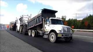 Dump Trucks, Saturday Paving