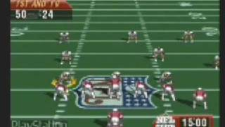 NFL Quarterback Club 96 [UNRELEASED] PlayStation Museum Exclusive Gameplay Footage