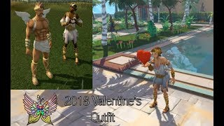 RS3 Amare Outfit Cosmetic - Valentine's 2018