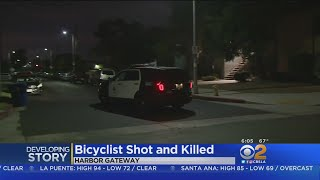 Bicyclist Shot, Killed In Harbor Gateway Area