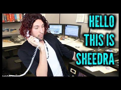 The Ghetto Telemarketer | Sheedra #SheedraGoesToWork