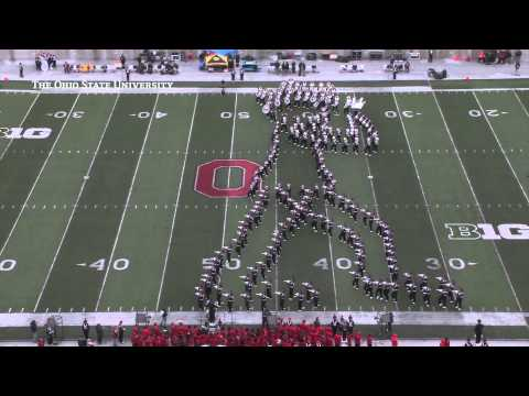 The Ohio State University Marching Band: Michael Jackson Tribute (Oct. 19, 2013)