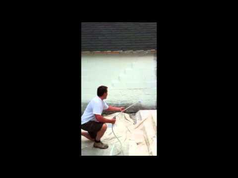 Comment Peindre Au Pistolet Un Mur De Béton