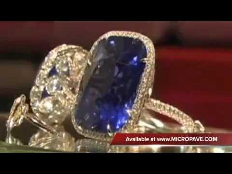 How Jewelry Is Made - Leon Mege On Brazilian TV (Globo News)