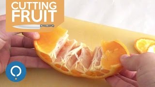 Peel an Orange tнe Easy Way - Amazing Hack