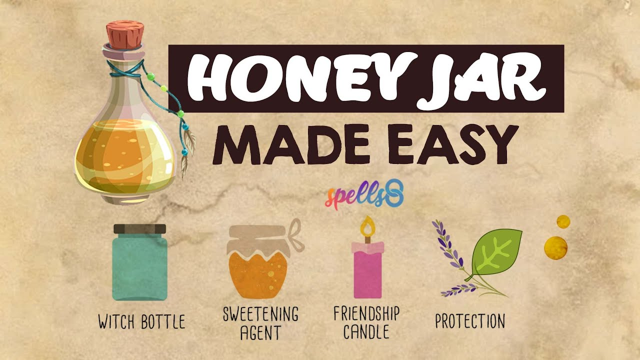 Honey Sweetening Jar Spell Made Easy Magic For Kindness