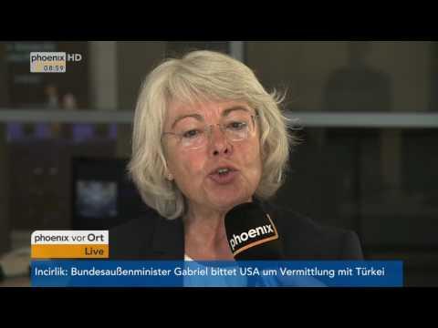 Interview im Bundestag mit Sille Pfeiffer und Uwe Kekeritz am 180517