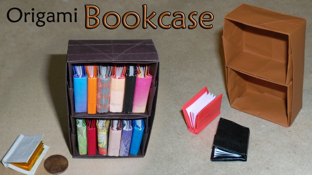Origami Bookcase Youtube