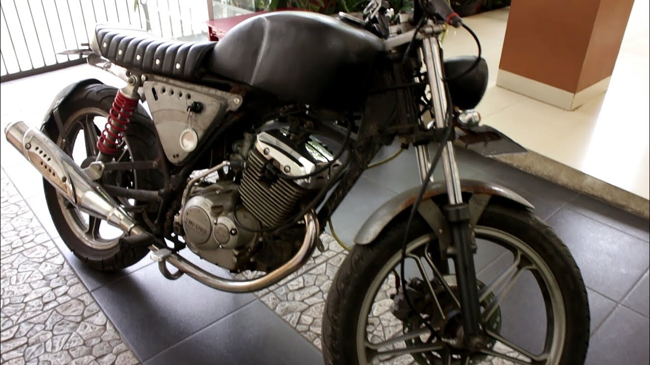Membangun Suzuki Thunder125 Custom Ganti Karburator Original Part4