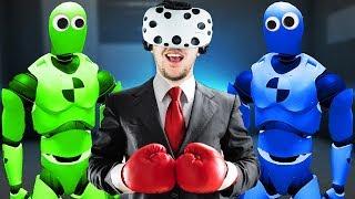 Happy Room in VR! - Rage Room Gameplay - VR HTC Vive