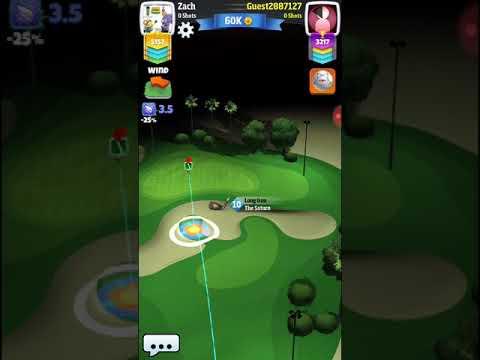 Golf clash tour 6 milano shootout crosswind right to left