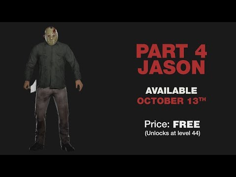 Friday the 13th The Game Part 4 Jason, New Jarvis House Map, and New Emote Pack DLC