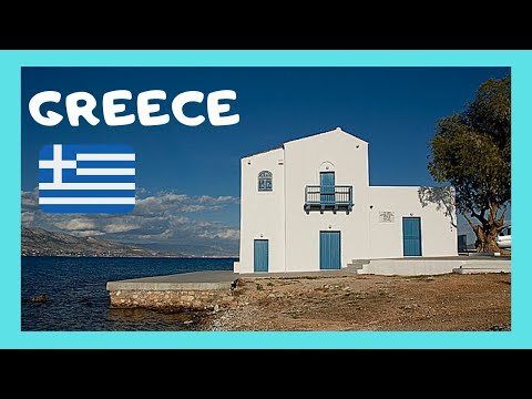 GREECE: ISLAND of SALAMINA (Σαλαμίνα), the graphic Old Town