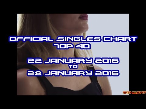 Official Charts (UK): Top 40 Singles (22 January 2016 - 28 January 2016)