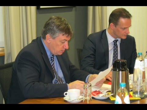 Innenminister Jan Jambon in Eupen