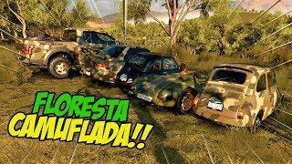 ACHEI O ZOIO SEM QUERER KKK!! - FLORESTA CAMUFLADA - FORZA HORIZON 3