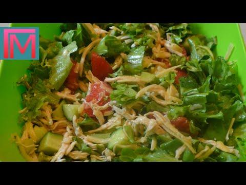 Аппетитный куриный салат