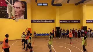 EuroLeague finali değil okulumuz 8. Sınıflar arası Basketbol Final müsabakası