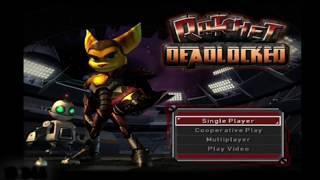 Ratchet:  Deadlocked (Gladiator) - PS2 DEMO GAMEPLAY