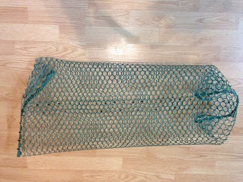 How To Make A Pillow Trap For Crayfish ( Crawfish, Crawdads) For Under $3 Each.
