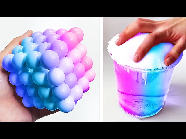 Oddly Satisfying Slime ASMR No Music Videos - Relaxing Slime 2020 - 150