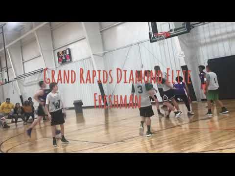 Grand Rapids Diamond Elite 14U ( Courthouse Basketball Game 1)