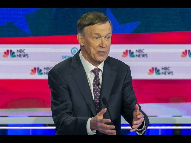 Hickenlooper: If We Move Left The GOP Will Call Us Mean Names!