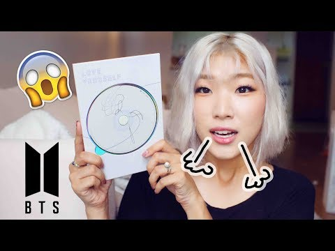 I bought BTS Love Yourself 承 'Her' from Walmart !!!! - Album Unboxing late lol