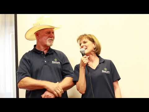 Overcoming MS with Whole Food Nutrition   Jim  Nancy Berna   NeoLife Testimon
