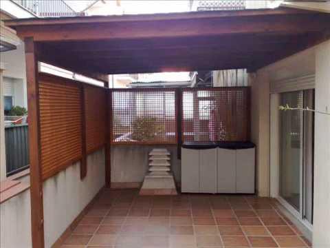 Porches de madera de pino cuperizado te ido youtube - Madera para porches ...