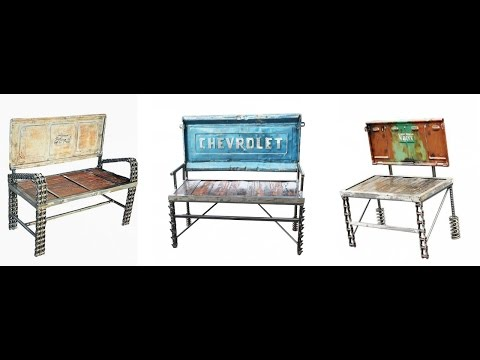 Diy Outsider Art Folk Art and Furniture Design by Raymond Guest