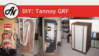 "Tannoy Monitor Gold 15"" Diy Enclosure Building (grf & Bass-reflex)"