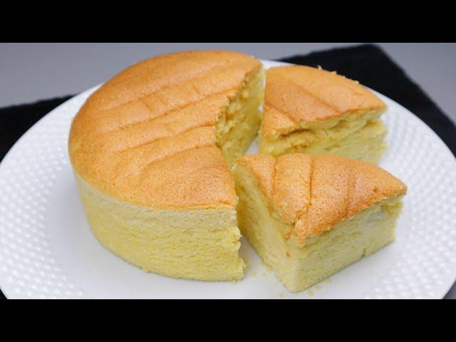 তুলার মতো নরম জাপানিজ কটন স্পঞ্জ কেক | Japanese Cotton Sponge Cake | Cotton Soft Sponge cake