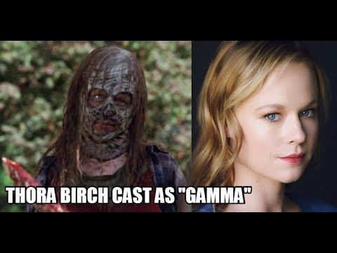 The Walking Dead Season 10 Major News Actress Thora Birch